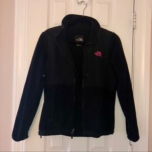 Black North Face Jacket Breast Cancer Edition